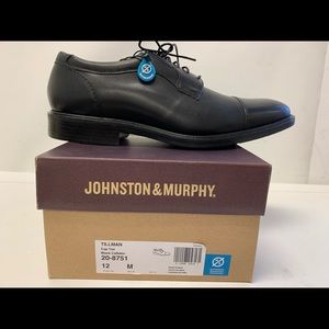 Johnston & Murphy Tillman Cap Toe Waterproof shoe